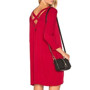 BB Dakota Zepplin Dress in Cherry Red Size medium